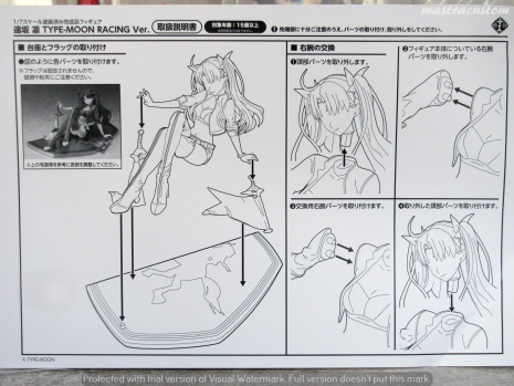 054 Rin Tohsaka TMRacing Stronger recensione