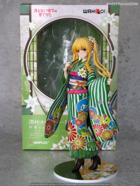 001 Eriri Kimono Saekano Aniplex recensione
