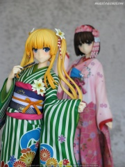 057 Megumi Katou Kimono Saekano Aniplex recensione