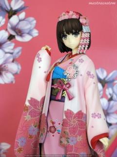 061 Megumi Katou Kimono Saekano Aniplex recensione