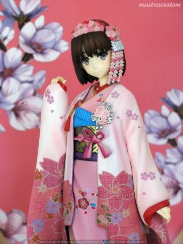 063 Megumi Katou Kimono Saekano Aniplex recensione