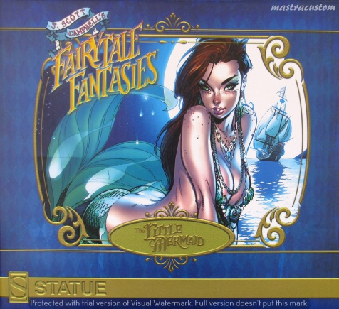 001 Little Mermaid J Scott Campbell Sideshow Recensione