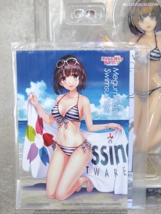 006 Megumi Katou Swim Saekano GSC recensione
