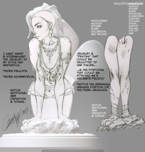 065 Little Mermaid J Scott Campbell Sideshow Recensione