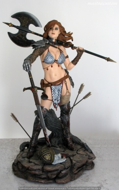 013 Red Sonja Sideshow recensione