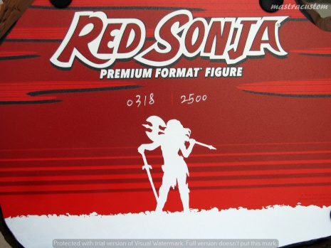 072 Red Sonja Sideshow recensione