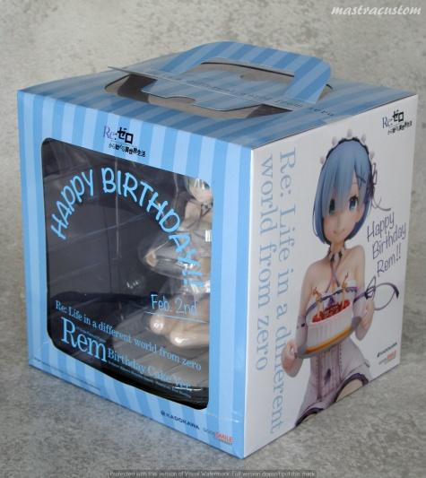 003 Rem Birthday Cake ReZERO Kadokawa recensione