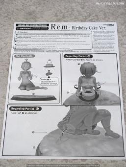 040 Rem Birthday Cake ReZERO Kadokawa recensione