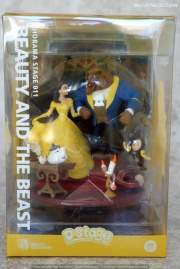 001 Disney Pixar DStage Beast Kingdom recensione