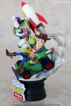 034 Disney Pixar DStage Beast Kingdom recensione