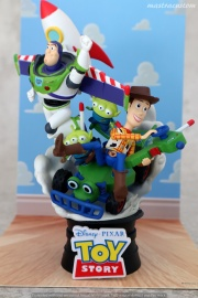 054 Disney Pixar DStage Beast Kingdom recensione