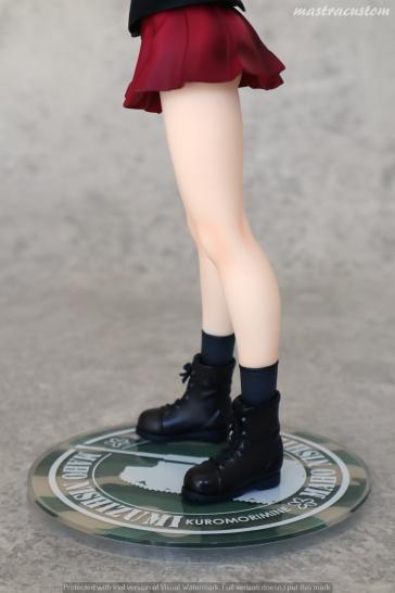 022 Maho Nishizumi Girls und Panzer Ques Q recensione