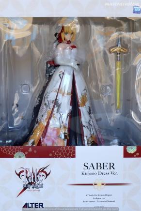 001 Saber Kimono Dress FSN ALTER recensione
