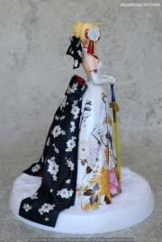 006 Saber Kimono Dress FSN ALTER recensione