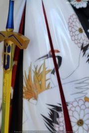 037a Saber Kimono Dress FSN ALTER recensione