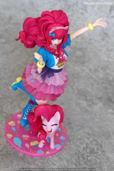 053 Pinkie Pie My Little Pony Bishoujo Kotobukiya recensione