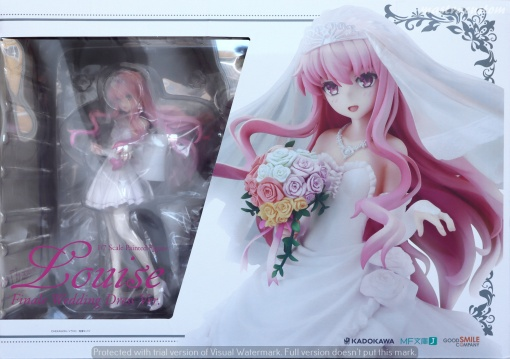 001 Louise Finale Wedding ZERO GSC Kadokawa recensione
