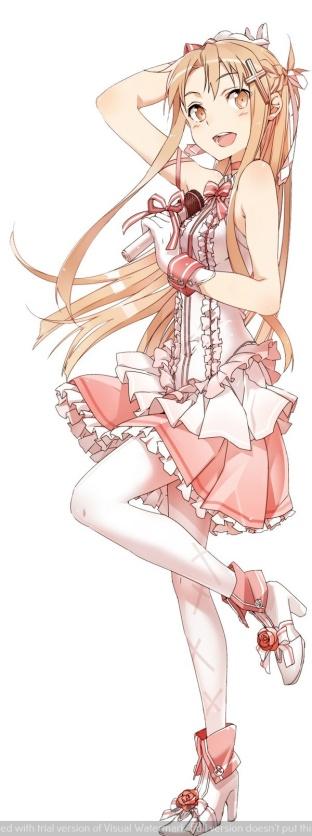 002 Asuna Idol SAO Stronger recensione