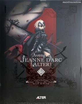 003 Avenger Jeanne DArc ALTER FGO Recensione