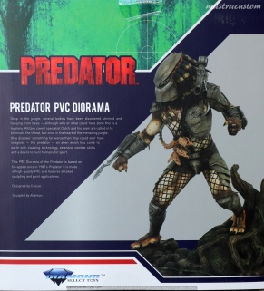 002 PREDATOR Diamond Select recensione