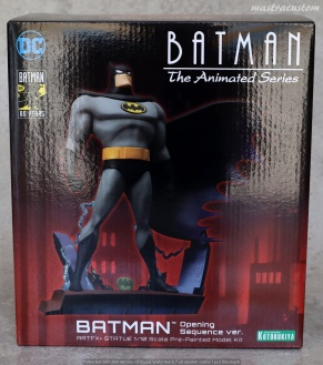 001 Batman Animated ARTFX Kotobukiya recensione
