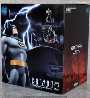 002 Batman Animated ARTFX Kotobukiya recensione